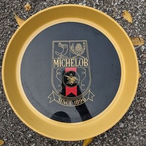 """VTG MICHELOB Plastic 13"""" Beer Tray"""